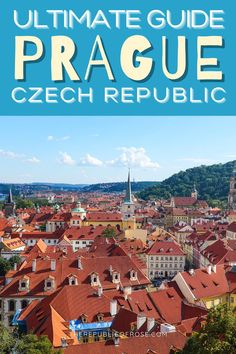 If you're planning a trip to Prague, read this guide with everything you need to know about visiting Prague over a few days. From the historic center, to the colorful baroque buildings, Gothic churches and the medieval Astronomical Clock, Prague is a must visit city! Travel Guides, Travel Tips, Weekend In Prague, Visit Prague, Prague Travel, Prague Czech Republic, The Republic, Eastern Europe, Baroque