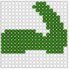 krokodil kralenplank