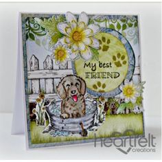 Heartfelt Creations - My Best Friend Pampered Pooch Project