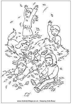 vorlage zum ausmalen - vogelscheuche mit kürbissen im herbst   herbst ausmalvorlagen