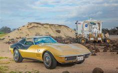 "Apollo astronaut Alan Bean's 1969 Chevrolet ""AstroVette."""