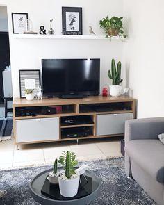 Home Decoration Ideas Ikea .Home Decoration Ideas Ikea Living Room Shelves, Living Room Tv, Living Room Interior, Home And Living, Living Room Furniture, Salon Furniture, Furniture Stores, Furniture Ideas, Furniture Design