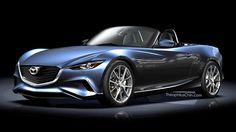 New Mazda MX-5 rendered