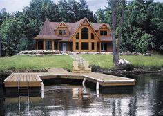Citadel Log Home