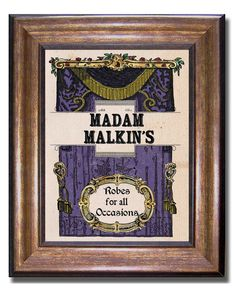Harry Potter  Madam Malkin's Robes for All by MyChildishThings