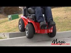 Magic Mobility Wheelchairs - Extreme X8 Off-Road Power Chair - YouTube