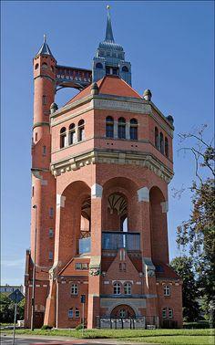 Вроцлав, Польша, водонапорная башня | Flickr - Photo Sharing!