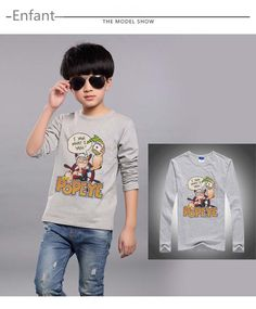 2016 Children t-shirt baby girls boys t shirts spring autumn new cartoon toddler clothes kids long sleeve t shirts 100% cotton #>=#>=#>=#>=#> Click on the pin to check out discount price, color, size, shipping, etc. Save and like it!