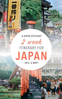A super efficient itinerary for Japan Travel tips 2019 Japan travel tips for your two week trip! These Japan destinations are seriously amazing. Includes a map! Japon Tokyo, Kyoto Japan, Okinawa Japan, Japan Destinations, Japan Travel Guide, Asia Travel, Travel Trip, Tokyo Japan Travel, Japan Guide