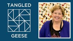 Make a Tangled Geese Quilt with Jenny
