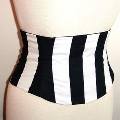 patterns+for+a+pirate+coat | Any Size Giant Pirate Stripey Print Waist Cincher Corset... review ...