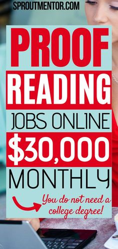 Here are simple proofreading jobs for beginners which you can use to make money online during your spare time even while you work from home!