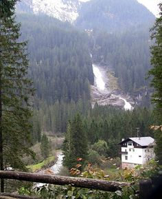 Krimml, Austria--the highest waterfall in Europe and a lovely Alpine village