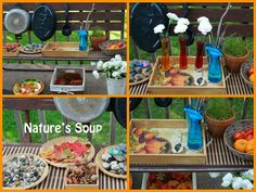 Outdoor Science Pretend Play Center