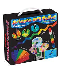 This Science Art Fusion Rainbow Kit is perfect! #zulilyfinds