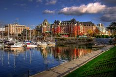 The Empress Hotel in Victoria, BC......One of the nicest places for High Tea