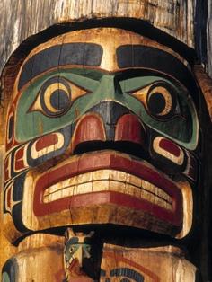 Totem Pole, British Columbia, Canada