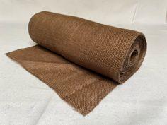 "14"" Brown Burlap Sewn Edge 10 Yard Roll - Made In USA Burlap Fabric, Burlap Ribbon, Special Events, Custom Design, Yard, Usa, Sewing, Brown, Decor"