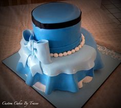 Back of Cinderella Cake by Custom Cakes By Tracee, via Flickr