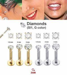 Gold Flat Back Push-In Stud for Cartilage, Helix, Tragus, Monroe - 16 Gauge Ear Piercing Care, Full Ear Piercings, Labret Piercing, Labret Studs, Face Piercings, Body Piercing, Tragus Earrings, Tiny Stud Earrings, Emerald Earrings