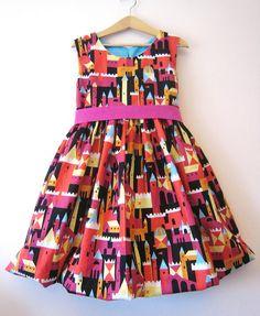 Amazing little girl's dress.