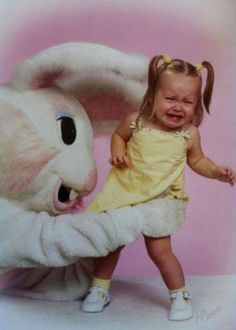 Don't ever ask to see what Easter Bunny is hiding.