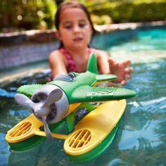 Green Toys Watervliegtuig groen Greentoys Seaplane - € 18,90