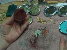How to Use Gilder's Paste to Colorize Metal Jewelry - The Beading Gem's Journal. click on picture for lots of info including B'Sue videos.