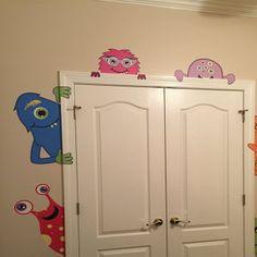 Monster Party, Monster Room, Monster 1st Birthdays, Monster Birthday Parties, Monster Theme Classroom, Classroom Decor, Halloween Birthday, Holidays Halloween, Birthday Party Decorations