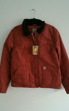 CARHARTT 101405 JACKET COAT Sz LARGE NWT QUILTED WARM in Clothing, Shoes & Accessories, Women's Clothing, Coats & Jackets   eBay
