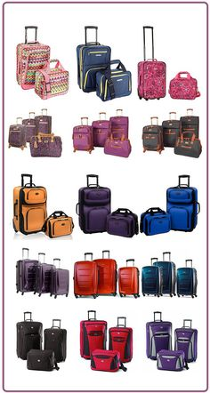 efc207312028 6 of the most popular travel luggage sets