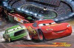 Autozimmer: XXL Fototapete von Disney Cars für das Kinderzimmer. Gibt es in verschiedenen Ausführungen bei Amazon