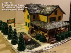 Jen Block - Peoples Choice Award - 2013 Ultimate Gingerbread Holiday Photo Contest