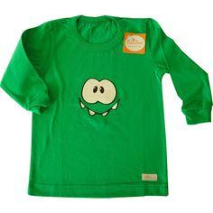 Remera ojitos de jersey de algodón-niño-ropa para chicos y bebes