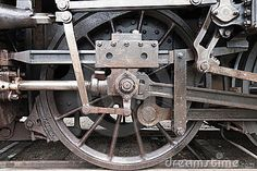 old trains clipart | Old Train Wheel Stock Image - Image: 19126291
