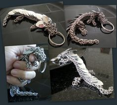 Chain Maille Pet Dragon! Kinda want one
