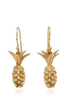 Small Pineapple Earring by ANNETTE FERDINANDSEN for Preorder on Moda Operandi