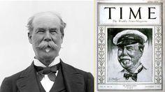 Sir Thomas Lipton, fundador de Lipton Tea, fue portada de la revista Time  #RevistaTime #Branding #Historia #Té