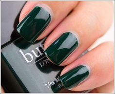 Butter London British Racing Green...thinking St. Patrick's Day
