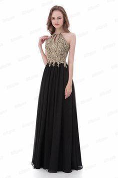 f6b55224bf7 16 Amazing Black and gold dresses images