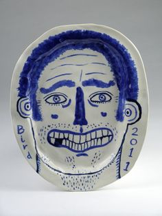 19-Bird-self-portrait-laughing-22x18cm-stephenbird2011