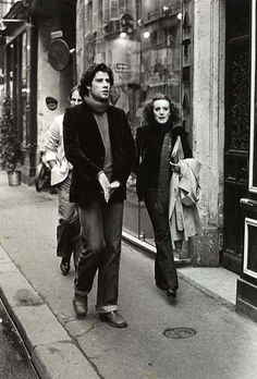 John Travolta, Paris, circa 1980  WITH ME, Kate Edwards - what a surprise to see this when I checked Pinterest this morning.!  I have others from series of photos but I've never seen this one before!!!