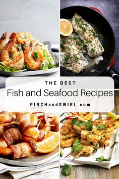 Looking for a healthy dinner tonight? Check out this collection of easy and delicious fish and seafood recipes! Easy Make Ahead Appetizers, Easy Dinner Recipes, Appetizer Recipes, Healthy Grilling Recipes, Healthy Summer Recipes, Vegetarian Recipes, Crab Cake Recipes, Fish Recipes, Seafood Recipes