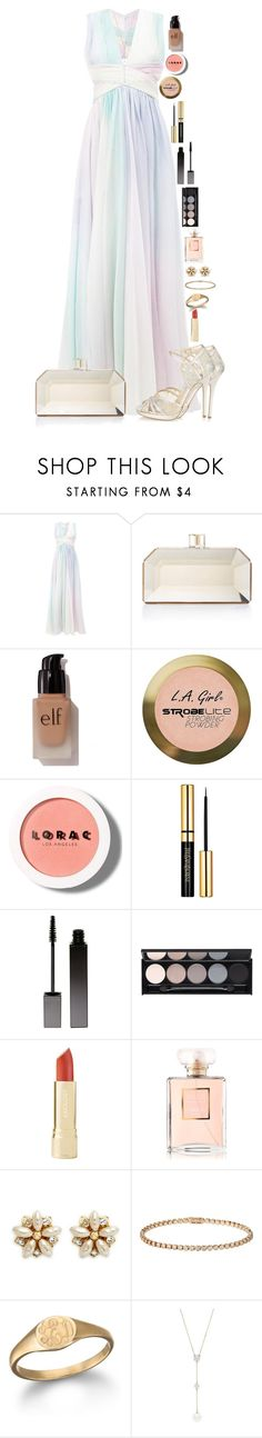 """""""Taco"""" by macapaz ❤ liked on Polyvore featuring Zuhair Murad, Judith Leiber, e.l.f., Charlotte Russe, LORAC, Serge Lutens, Witchery, Chanel, Miriam Haskell and Cartier"""