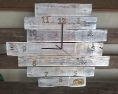 Zegar z palet z-eco