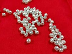 6MM PEARL BEADS - Flipncart Online Shopping in Vizag| CRAFT MATERIALS, SILKTHREAD MATERIALS, QUILLING MATERIALS, TERRACOTTA MATERIALS, OFFERS, BANGLES, JUMKA BASES, IPIN, HEAD PINS, LOREALS, STUD BASES, BEAD CAPS, JUMP RINGS, STONE LACE, STONE CHAIN, PEARL CHAIN.