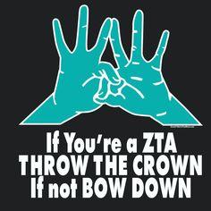 Zeta Tau Alpha Hand Sign