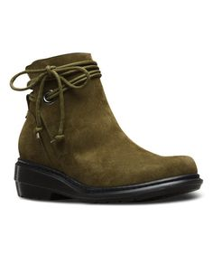 Look what I found on #zulily! Grenade Green Shelby Suede Boot - Women #zulilyfinds