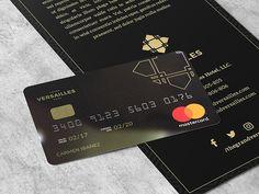 Versailles Bank Card by Fis Ihsani