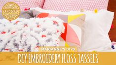 DIY Embroidery Floss Tassels - HGTV Handmade